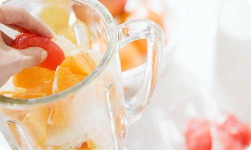 Коктейли из фруктов