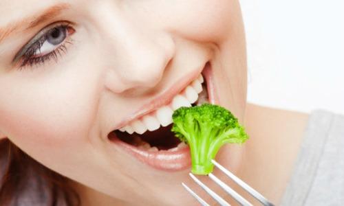 Лучшие продукты для красивых зубов