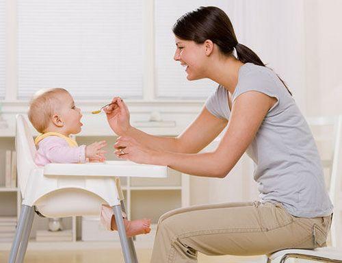 Правильное питание детей до года