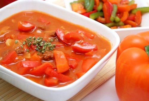 Зимние заготовки из болгарского перца