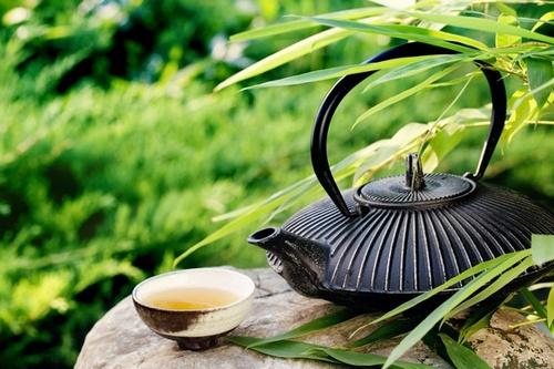 Как худеют на зеленом чае