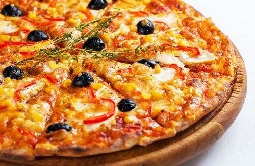 Тесто и соус для диетической пиццы