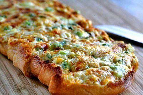 Бутерброды в виде пиццы на скорую руку