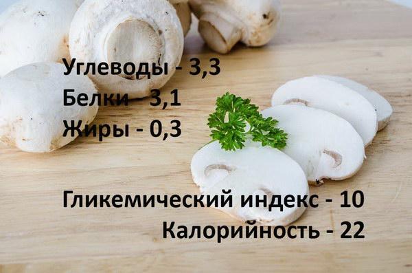 Можно ли есть грибы при сахарном диабете 2 типа