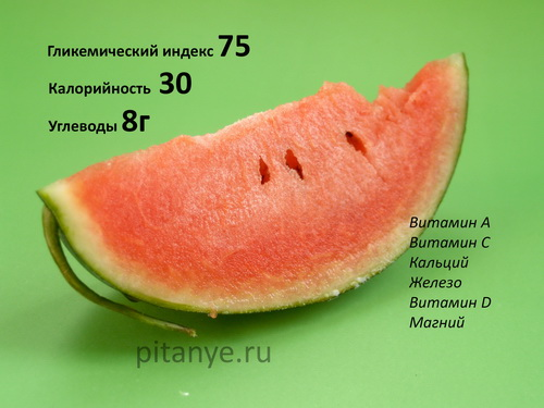 Можно ли кушать арбуз при сахарном диабете 2 типа